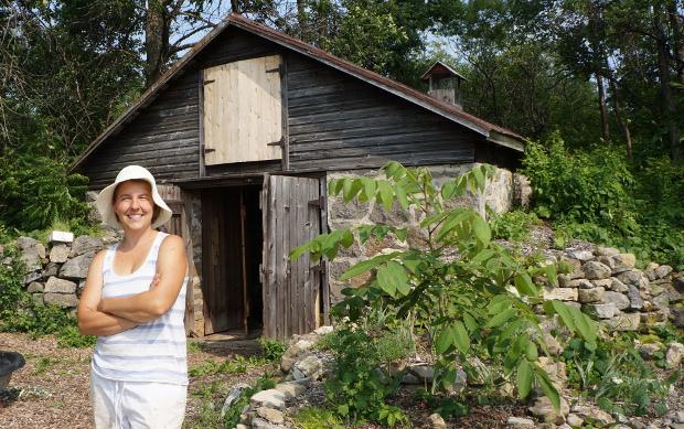 Lyne Bellemare, de Terre Promise, entreprise artisanale semencière
